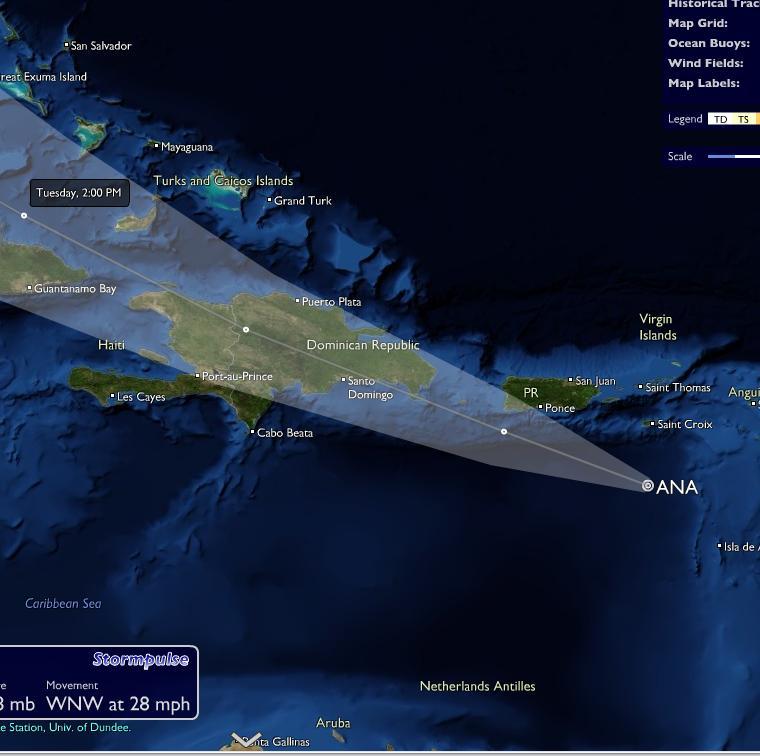 huracan norte midi: